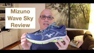Review Mizuno Wave Sky