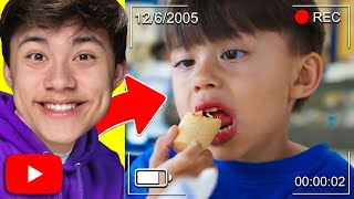 REACTING TO OLD BABY VIDEOS!!! My Life Before YouTube