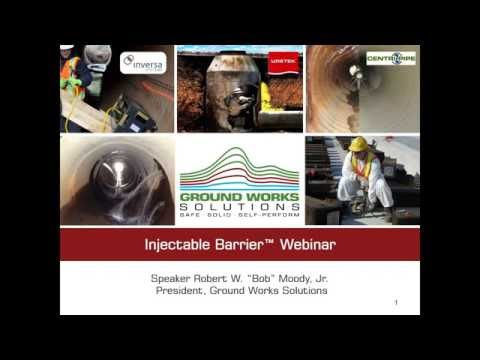 Injectable Barrier® Systems – Trenchless Applications for Restricting Groundwater and Contamination