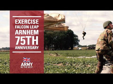 Ex Falcon Leap | Arnhem 75 | British Army