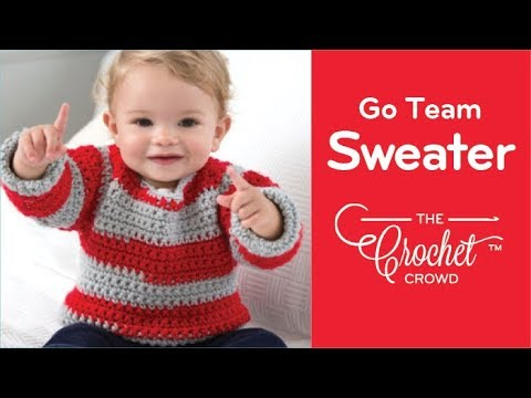How To Crochet A Baby Sweater 6 12 24 Months Youtube