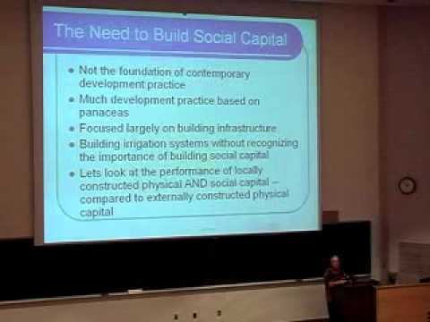 Building Future Social Capital