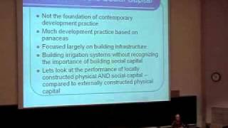 Building Future Social Capital