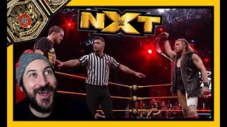 Reaction   UNITED KINGDOM CHAMPIONSHIP MATCH!!! WWE NXT June 13, 2018