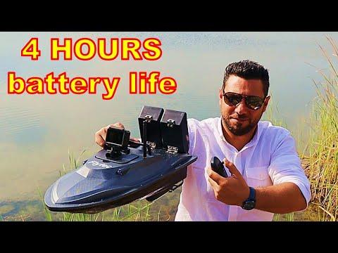 RC Boat For Fishermen - Remote Control Fishing Bait Boat Flytec V007