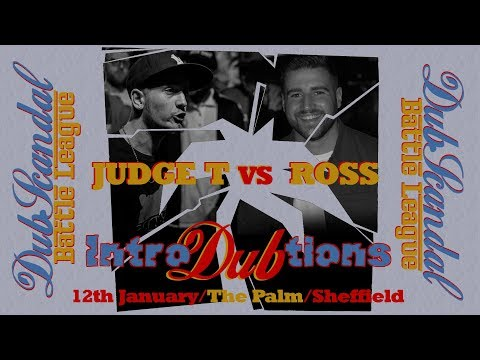 JUDGE T VS ROSS | DubScandal Rap Battle