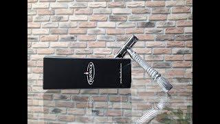 Бритье. Обзор Т образного бритвенного станка RazoRock DE 1. RazoRock DE 1 safety razor review.