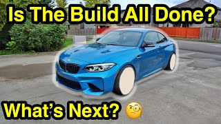 My Salvage Auction BMW M2 Gets A New Set Of Wheels! Aggressive Fitment! Part 14