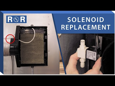 Humidifier Solenoid: Repair and Replace (Air King AK7000)