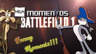 Battlefield 1!!! Momentos Divertidos!!! xbox one - ps4 pro