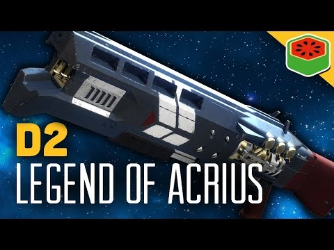 LEGEND OF ACRIUS - NEW EXOTIC RAID WEAPON! | Destiny 2 Gameplay