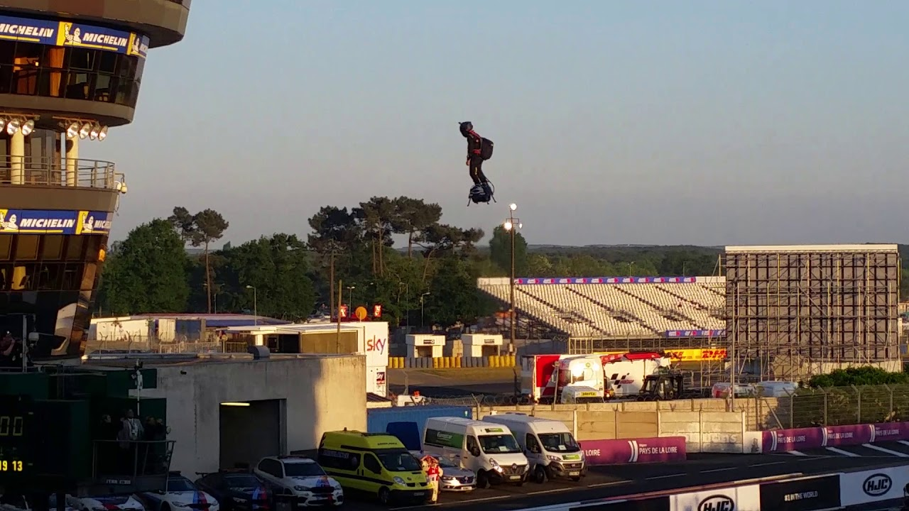 Fly Board Frank Zapata GP Le Mans