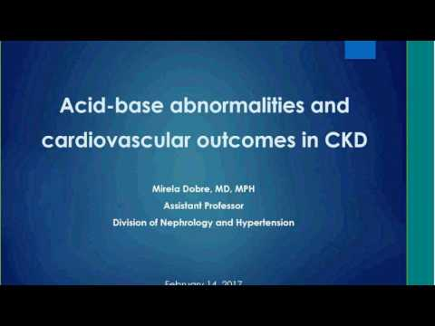 Acid-Base Abnormalities and Cardiovascular Outcomes in Chronic Kidney Disease by Mirela Dobre, MD