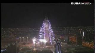 New Year's Eve 2011 in Dubai   Burj Khalifa Fireworks,
