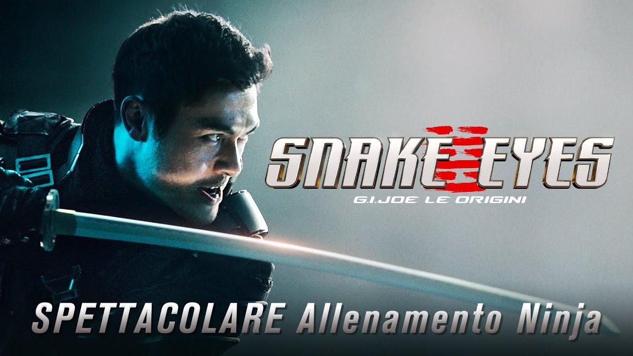 SPETTACOLARE Allenamento Ninja | Snake Eyes