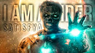 Ironman I am a Rider | Ironman  Satisfya | Marvel | Thor | Hulk | Captain America