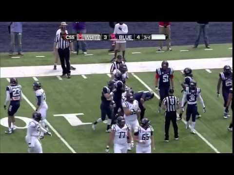 Ole Miss Rebels Full Spring Football GAME HD 2014