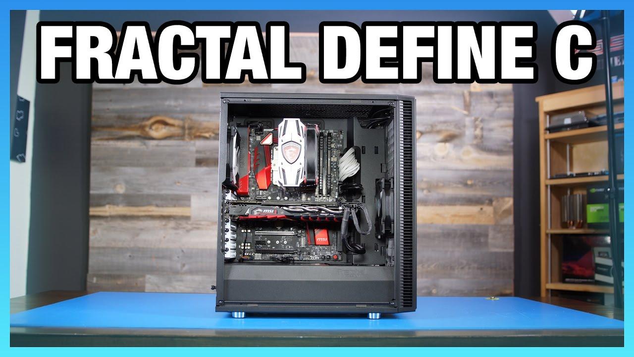 Fractal Define C Review - Logical & Quiet, but Warm - YouTube