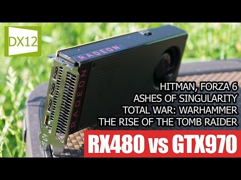 RX 480 vs GTX 970: тест в играх с DirectX 12