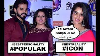 Sreesanth Dipika Got this Prestigious Awards | Lions Gold Awards 2019