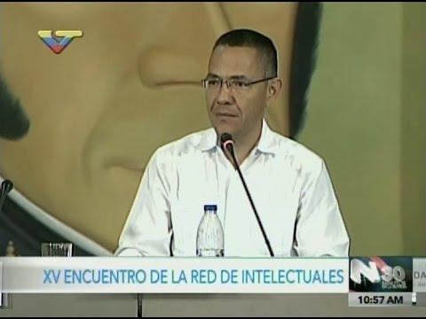 Ernesto Villegas en el Encuentro de Red Intelectuales sobre Comunicación y Revolución