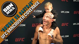 Donald Cerrone's Son Takes Over Interview | UFC Vancouver | Post-Fight
