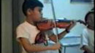 Violin Chinese piece 新春乐 Fung Chern Hwei age11.  Malaysia