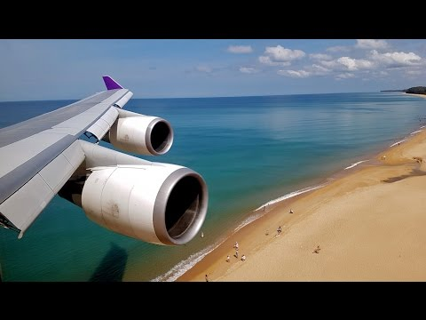 The Ultimate Plane Spotting Video: Phuket, Thailand
