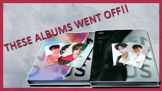 UNBOXING SF9 'SENSUOUS' ALBUM [ft. BOTH VERSIONS + MADTOWN]