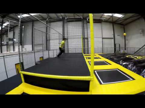 Parkour is coming to Go Air Manchester!