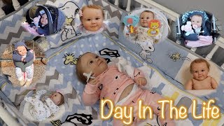 DAY IN THE LIFE of 6 Months Old Reborn Baby Charlie | Kelli Maple