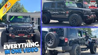 Here's a Florida Built 2010 Jeep Wrangler Unlimited For Sale in the Carolina's!!! REVIEW & Features