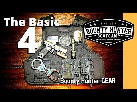 The Basic 4 Tools Every Bounty Hunter Needs | Bounty Hunter Gear
