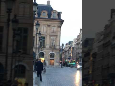 The Place Vendome and the Column Vendome