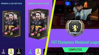5X ELITE LA LIGA TOTS FUT CHAMPS REWARDS!! - FIFA 21