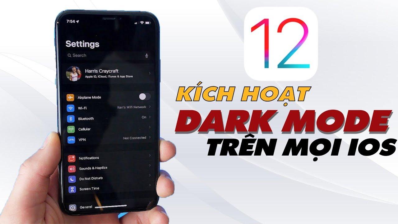 Không Cần Lên iOS 13 Vẫn Dùng Được Chế Độ Dark Mode   Truesmart