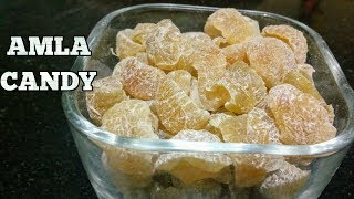 Amla Candy Recipe-Sweet Amla Candy-Dried Amla Candy-Indian Gooseberry candy-Sugar Amla Candy-Hindi