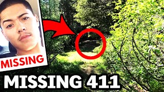 CREEPY ENCOUNTER While Searching For A Missing Person In The Woods: MISSING 411 National Park Case