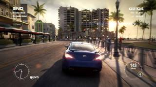 GRID 2 PC Multiplayer Race Gameplay: Tier 1 Upgraded Hyundai Genesis Coupe in Miami