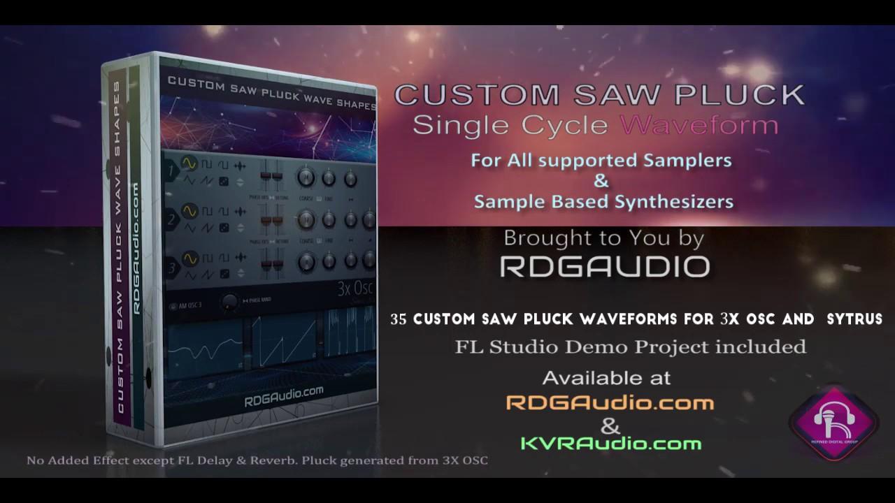 KVR: Buy RDGAudio Custom Saw Wave Shape Sample Pack at the