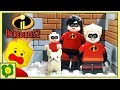 LEGO Incredibles 2 Building Bricks Superhero | Stop Motion Cartoon For Kids