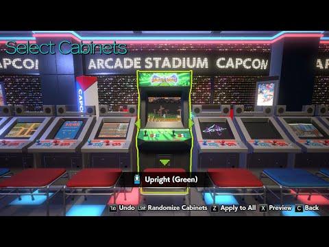 Capcom Arcade Stadium 2021  