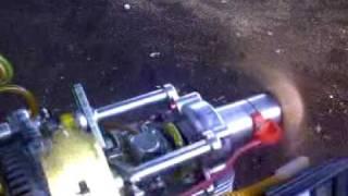 Prueba de banco, Motor DA50 R reacondicionado