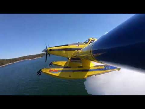 How does aerial firefighting work?