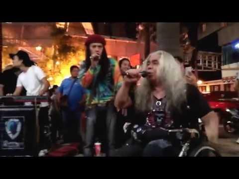 Kamelia - Abang Reggae n Papa Rock Street feat The Kodox's (15.Sept.2016)