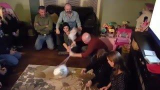 "The ""Wonder Ball"" Shrink Wrap Game"