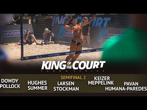 Semi Final 2 - Full Match | Beach Volleyball | King Of The Court Huntington Beach (USA)