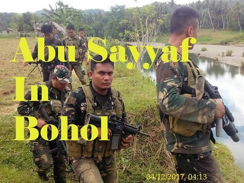 Abu Sayyaf group in Inabanga, Bohol - American in the Philippines - Abu Sayyaf Vlog Bohol