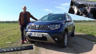 Der neue Dacia Duster im Test - Was kann das günstigste SUV? Review Kaufberatung