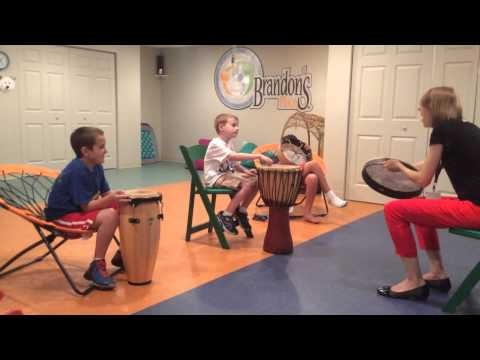 Fun interactive Music Therapy at Brandon's Place